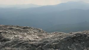 Rocks mountain view