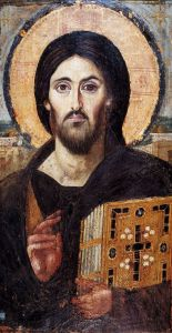 Christ Pantocrator - icon from St Catherine's Monastery, Sinai