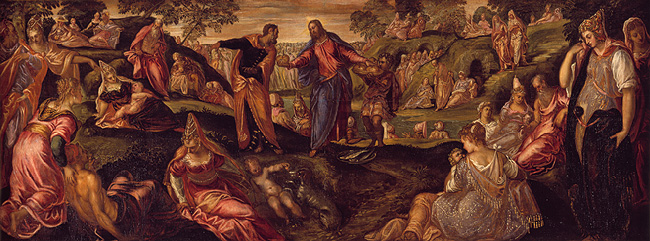 Loaves and Fishes by Tintoretto