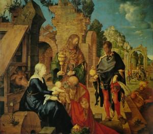 Adoration of the Magi by Albrecht Dürer
