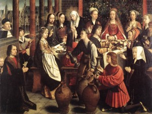 The Marriage at Cana by Gerard David c.1450/1460