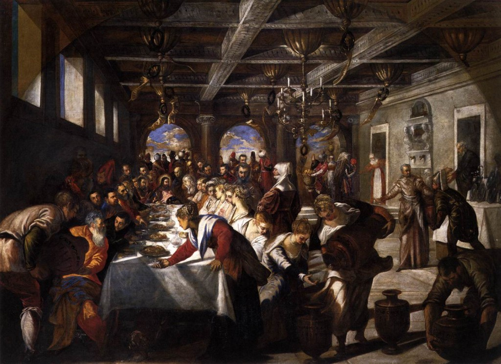 Marriage at Cana by Tintoretto, c.1560