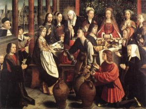The Marriage at Cana by Gerard David
