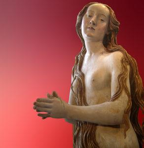Magdalena, by Gregor Erhart, c. 1515. Louvre.
