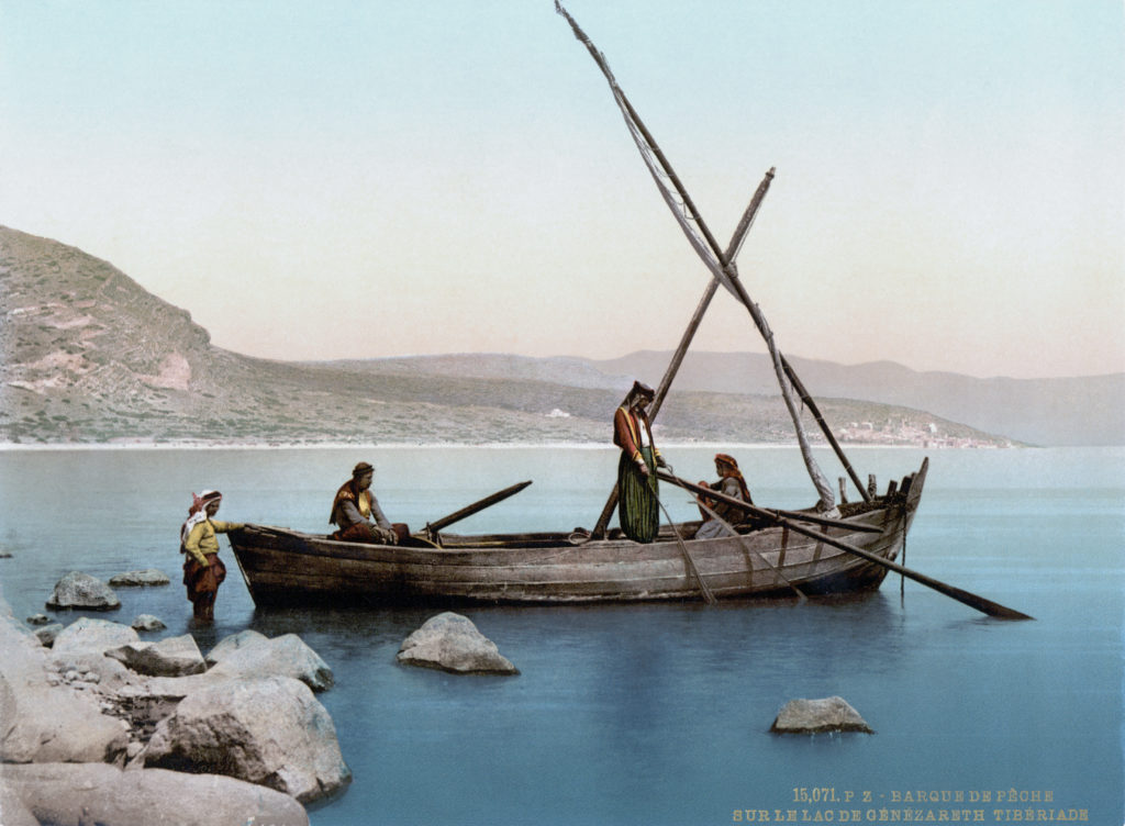 Fishermen on the Sea of Galilee