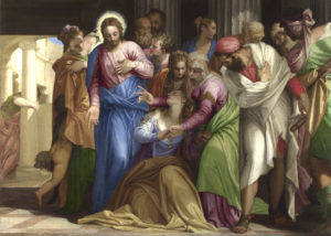 The Conversion of Mary Magdalene, Paolo Veronese, c1548. National Gallery