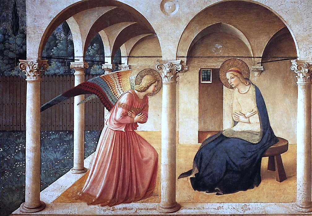 Painting - Annunciation by Fra Angelico