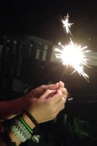 Sparkler Hands