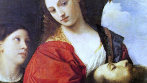 Painting of Salome by Titian