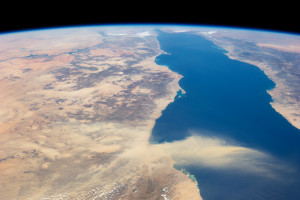 Dust Plume Over Red Sea