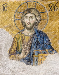 Christ Pantocrator - Mosaic from the Hagia Sophia, Istanbul