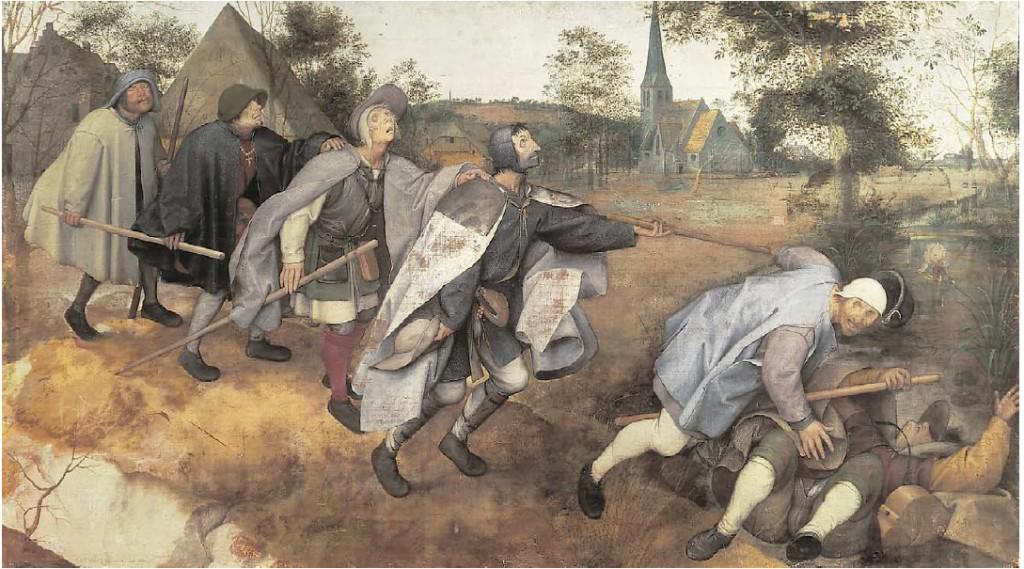The Blind Leading the Blind. Pieter Bruegel the Elder. 1568.