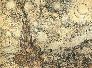 Van Gogh Starry Night (Drawing)