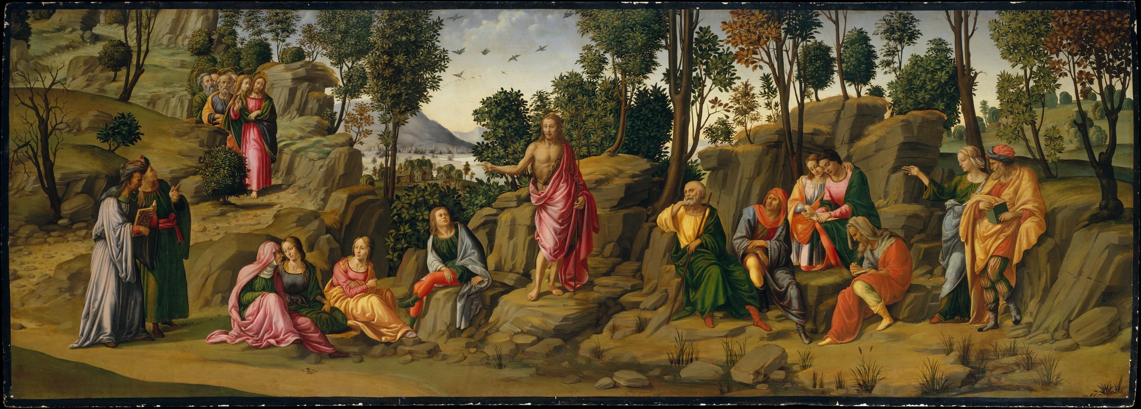 Saint John the Baptist Bearing Witness (painting)