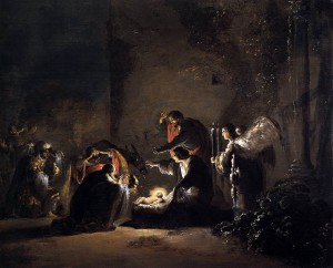 The Adoration of the Magi by Leonaert Bramer