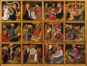12 Scenes from the Life of Christ, Anonymous, c. 1450. Wallraf Richartz Museum.