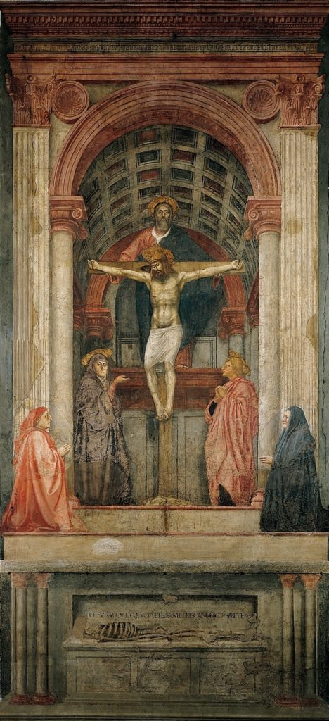 The Trinity, by Masaccio c.1427