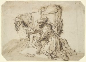 The Good Samaritan, Dutch, 17th century