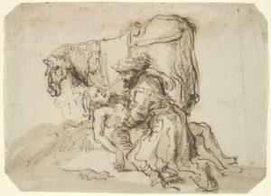 The Good Samaritan, Dutch, 17th century