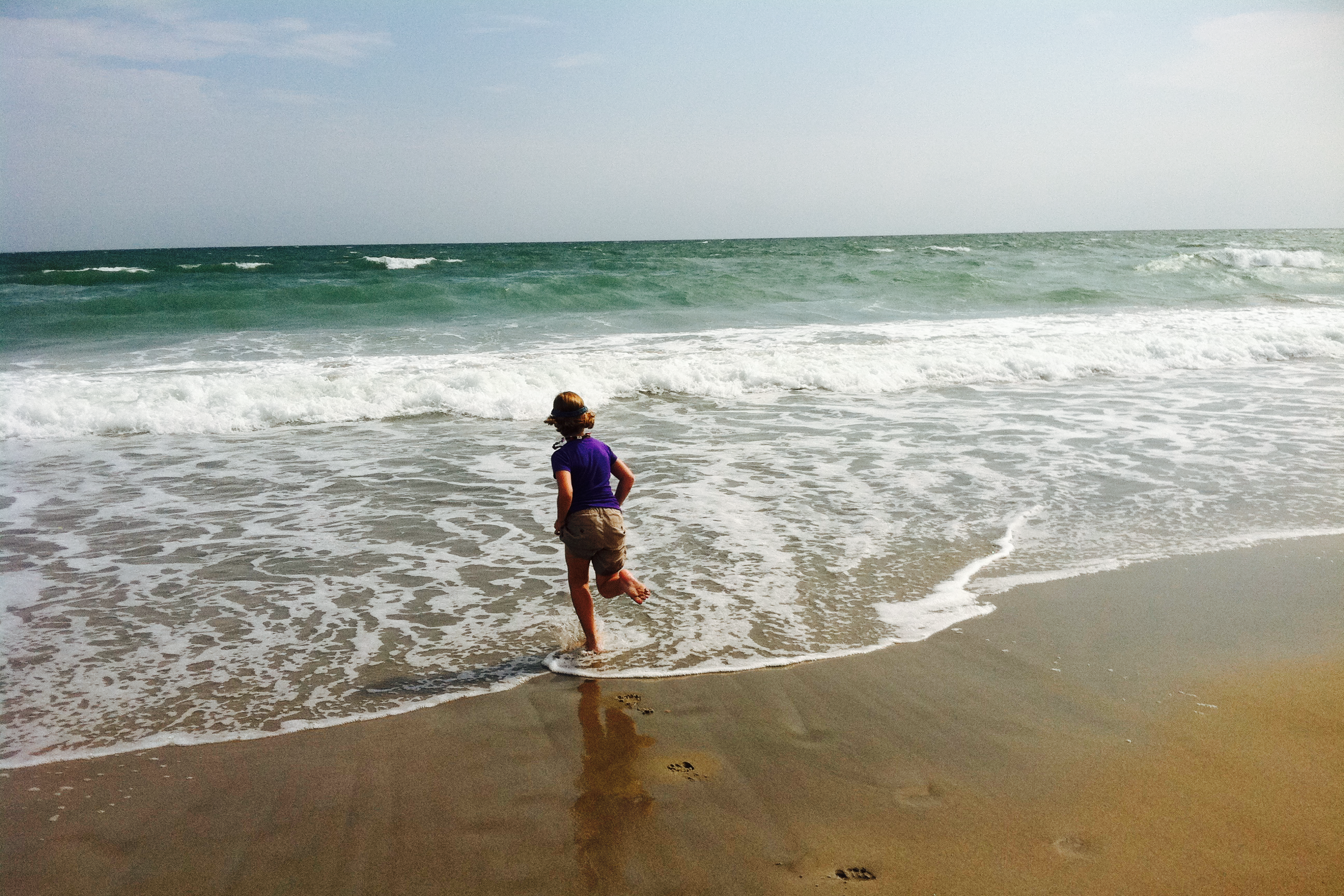 Child in the Surf