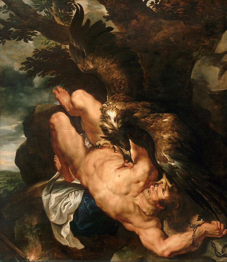 Prometheus Bound by Peter Paul Rubens, c.1611-1618, Philadelphia Museum