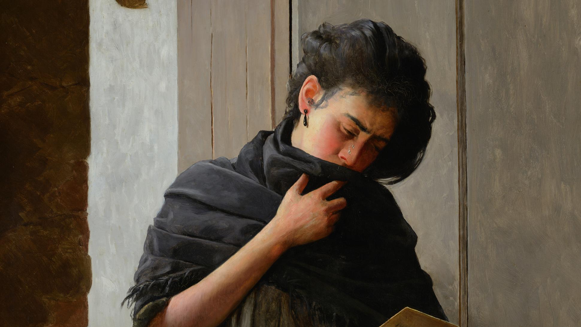 Saudade (Longing) by José Ferraz de Almeida Júnior, 1899