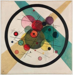 Circles in a Circle by Vassily Kandinsky, 1923