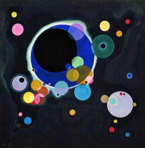 Several Circles by Vassily Kandinsky, 1926