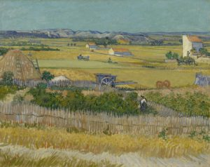 The Harvest, by Vincent Van Gogh. 1888. Collection of Van Gogh Museum, Amsterdam