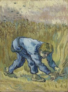 The Reaper, by Vincent Van Gogh. 1889. Collection of Van Gogh Museum, Amsterdam.
